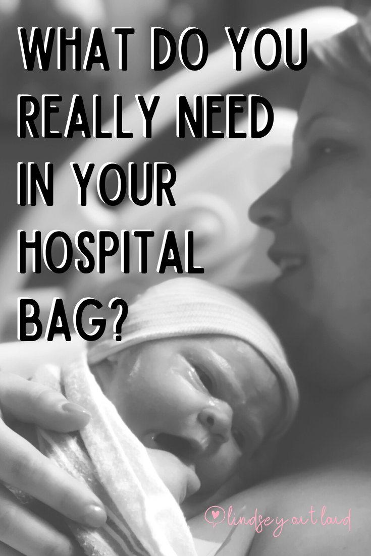 What do you really need in your hospital bag?